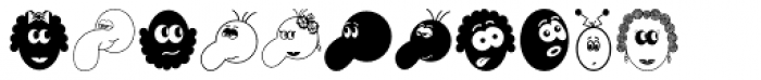 Gostosinhos Font LOWERCASE