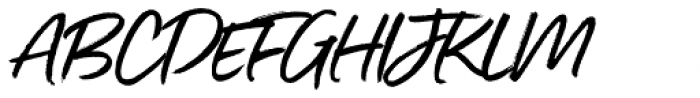Gotcha Regular Font UPPERCASE