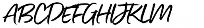 Gotcha Standup Font UPPERCASE