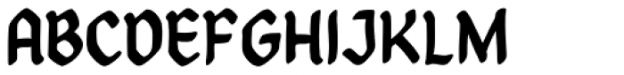 Goth Chic Pale Font UPPERCASE