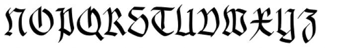Gothamburg Bold Font UPPERCASE