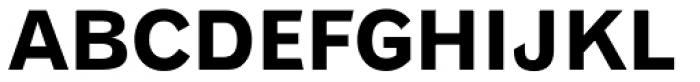 Gothic 720 Bold Font UPPERCASE