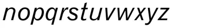 Gothic 720 Italic Font LOWERCASE