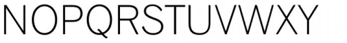 Gothic 720 Light Font UPPERCASE