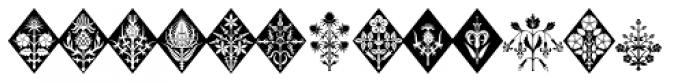 Gothic Herbarium Font UPPERCASE