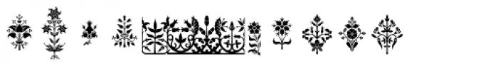 Gothic Herbarium Font LOWERCASE