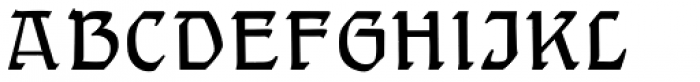 Gothic Initials Eight Font LOWERCASE