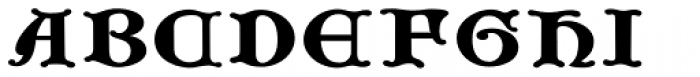 Gothic Initials Seven Font LOWERCASE