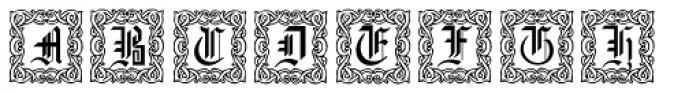 Gothic16 CGDecorative Font UPPERCASE