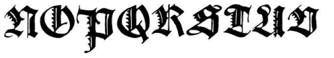 Gothicus Alternate Font UPPERCASE