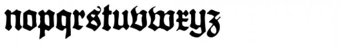 Gothicus Alternate Font LOWERCASE