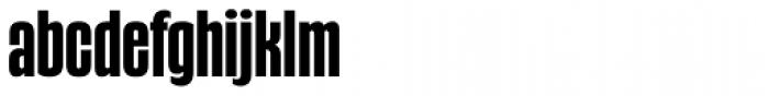 Gothiks Condensed Bold Regular Font LOWERCASE