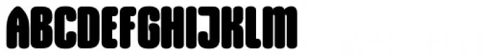 Gothiks Round Black Font UPPERCASE