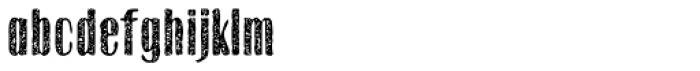 Gothink Extrabold Aged Font LOWERCASE