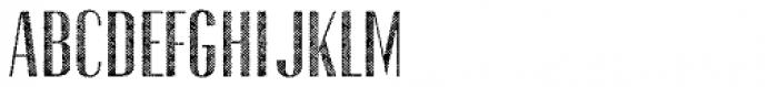 Gothink Half Tune Font UPPERCASE