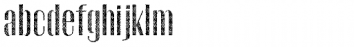 Gothink Half Tune Font LOWERCASE