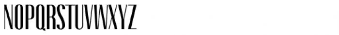 Gothink Semi Bold Condensed Font UPPERCASE