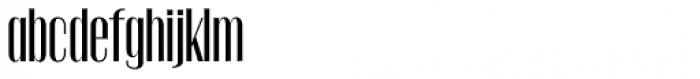 Gothink Semi Bold Condensed Font LOWERCASE
