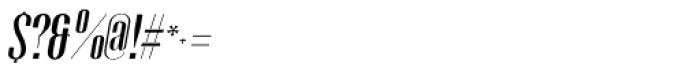 Gothink Semi Bold Italic Font OTHER CHARS