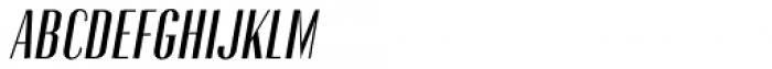 Gothink Semi Bold Italic Font UPPERCASE
