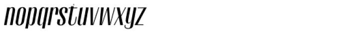 Gothink Semi Bold Italic Font LOWERCASE