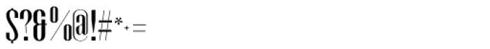 Gothink Semi Bold Font OTHER CHARS