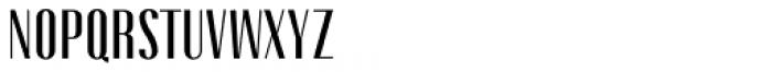 Gothink Semi Bold Font UPPERCASE