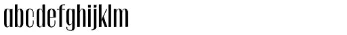 Gothink Semi Bold Font LOWERCASE