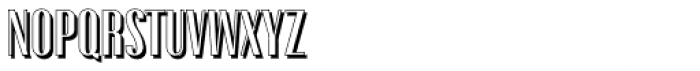 Gothink Shadow Font UPPERCASE