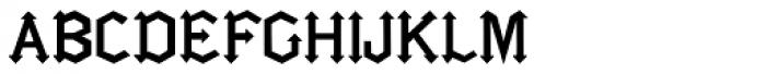 Gotica Moderna Font UPPERCASE