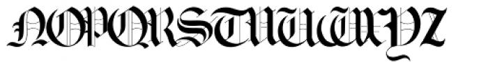 Gotische2 Font UPPERCASE