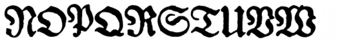 Gotyk Nr7 Font UPPERCASE