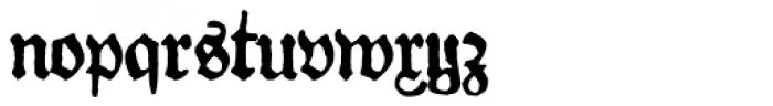 Gotyk Nr7 Font LOWERCASE
