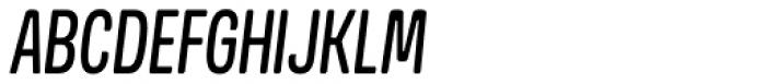 Goudar HL Italic Font UPPERCASE