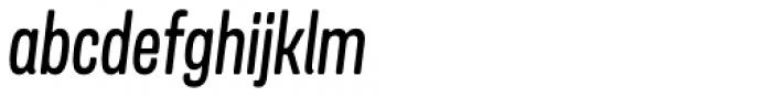 Goudar HL Italic Font LOWERCASE