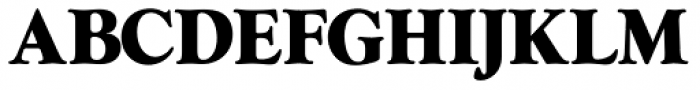Goudy AI Over Weight Font UPPERCASE