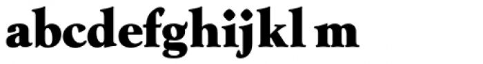 Goudy AI Over Weight Font LOWERCASE