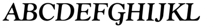 Goudy Bold Italic Font UPPERCASE