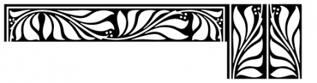 Goudy Borders Font LOWERCASE