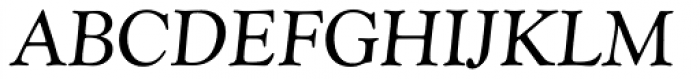 Goudy Catalogue EF Italic Font UPPERCASE