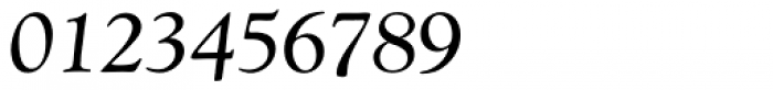 Goudy Catalogue MT Italic Font OTHER CHARS