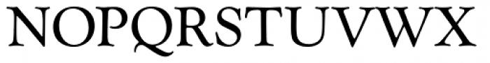Goudy Catalogue Regular Font UPPERCASE