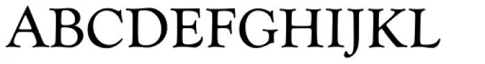 Goudy Catalogue Font UPPERCASE