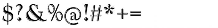 Goudy Handtooled Com Regular Font OTHER CHARS