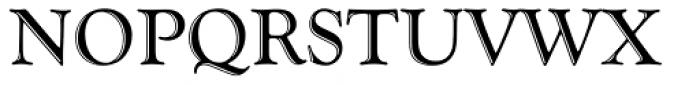 Goudy Handtooled Com Regular Font UPPERCASE