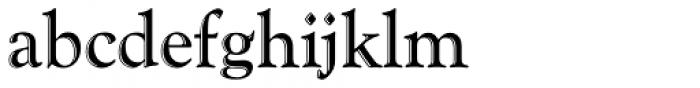 Goudy Handtooled Com Regular Font LOWERCASE