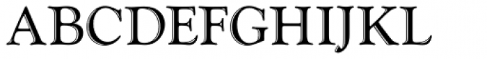 Goudy Handtooled D Font UPPERCASE