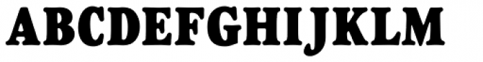 Goudy Heavyface D Condensed Font UPPERCASE