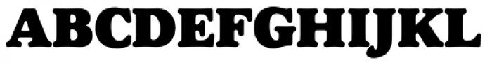 Goudy Heavyface SB Reg Font UPPERCASE