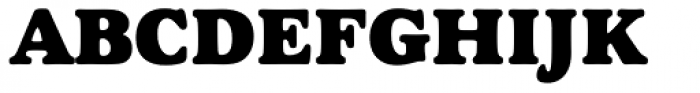 Goudy Heavyface Font UPPERCASE